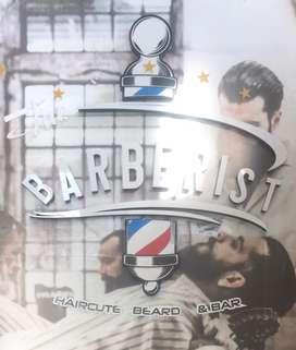 Vendo aviso para barberia