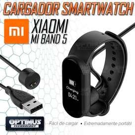 Cable Cargador Magnético Reloj Inteligente Smartwatch Xiaomi Mi Band 5