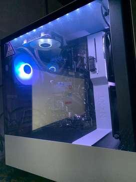 Torre I5 10400 16gb Ram Ssd 500gb Refrigeración Liquida Rgb