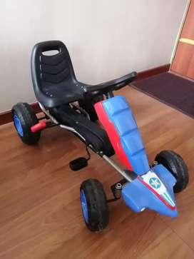 Carrito De Pedales Go-kart  Resistente Para Niños, Usado, en excelentes condiciones