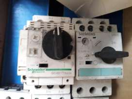 Guardamotores  Siemens Sirius 2,5 A y schneider 2,5 A