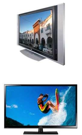 TECNICOS DE TELEVISORES EN CASA LCD LED 3D 4K Y PLASMA VENTA DE REPUESTOS