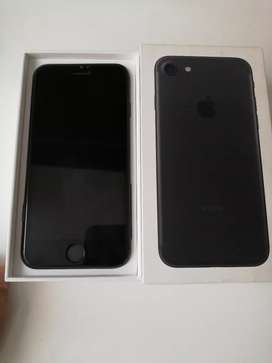 Espectacular iphone 7 black 32 gb