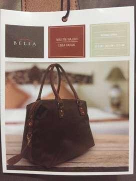 Bolso para dama cafe Belia