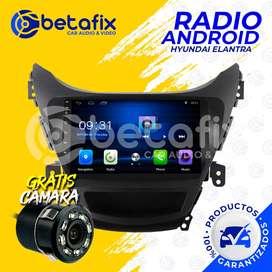 RADIO ANDROID HYUNDAI ELANTRA GPS BT USB WIFI BETAFIX DESDE