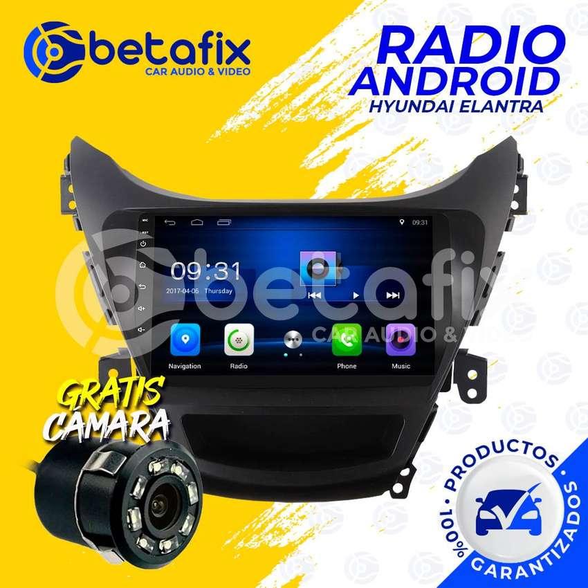 RADIO ANDROID HYUNDAI ELANTRA GPS BT USB WIFI BETAFIX DESDE 0