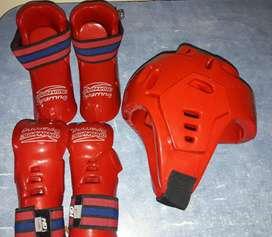 Protectores Taekwondo , guante , Pie Y Cabezal