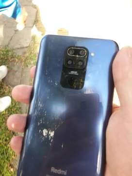Xiaomi redmi note 9 liquido