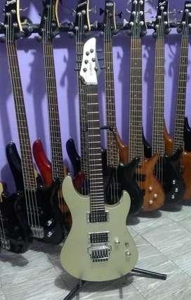 Guitarra Eléctrica Yamaha RGX 520DZ Verde Perlada con Floyd