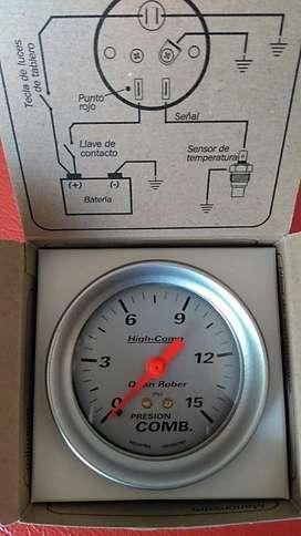 Reloj Presion Combustible