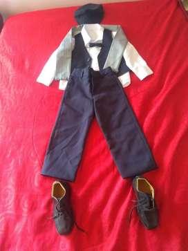 Vendo Vestido de Bautizo Talla 3