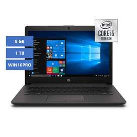 Portátil HP 240 G7 Intel Core i5 8GB 1TB WIN10PRO - 1A4W8LT#ABM