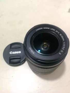 LENTE CANON 18‐55mm