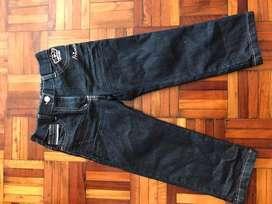 Pantalon Jean Azul Oscuro Niña