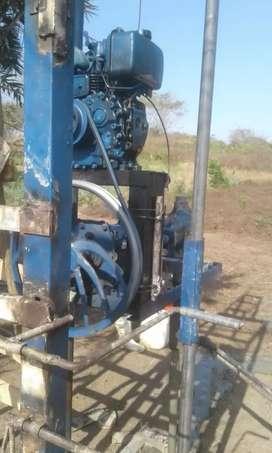 Venta y fabricación de toda clase de máquinas para perforación de posó profundo