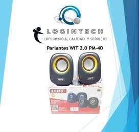 Parlante Multimedia 2.0 WIT Pm 40