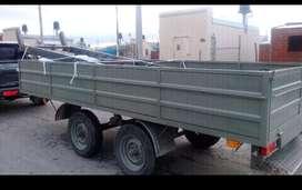 Vendo trailer para 4 toneladas, hermoso con balancin. $250.000 charlable.