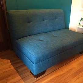 Sofa en L, 2 modulos