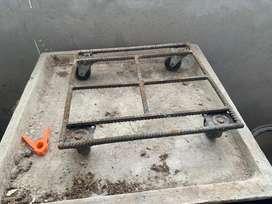 Base para macetas con ruedas
