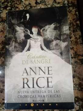 """Anne dice """" Cantico de sangre """""""