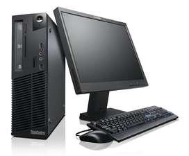 verndo computador de escritorio usado