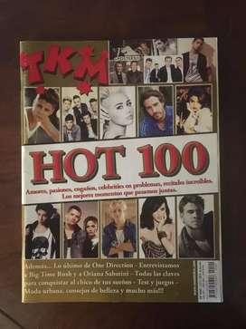 One Direction revista TKM edición 100
