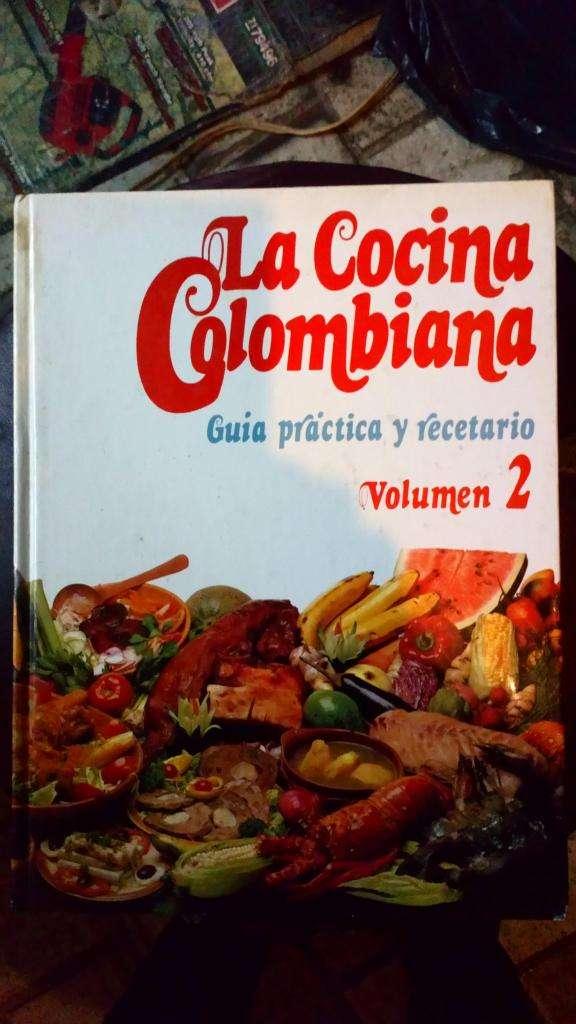 2LIBROS DE COCINA COLOMBIANA TOMO 2. EN BUEN ESTADO 0