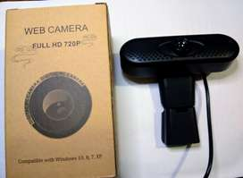Cámara web full HD 720p usb pc notebook netbook