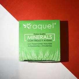 Polvo suelto minerals