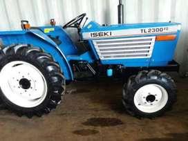 Tractor Agricola Iseki 23 Hp, 4x4, Japón