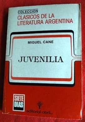 JUVENILIA MIGUEL CANÉ ED. ABRIL en LA CUMBREPUNILLA