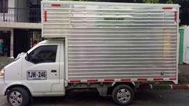 busco oferta laboral para Camioneta furgon 9m3/ 1 ton. disponible para trabajar