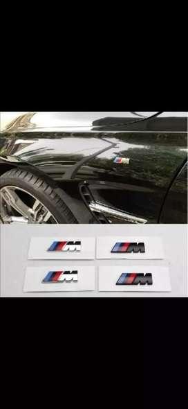 Emblema bmw serie M delantero trasero laterales