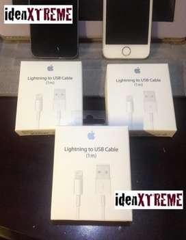 CABLES ORIGINALES iPHONE 6, 7, 8, X, XS 2 metros