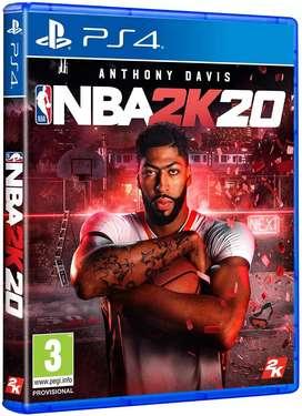 NBA 2k 20 play station 4