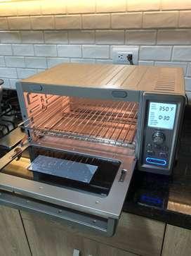 Horno de convección tostadora Acero inoxidable Cuisinart TOB260 Chefs