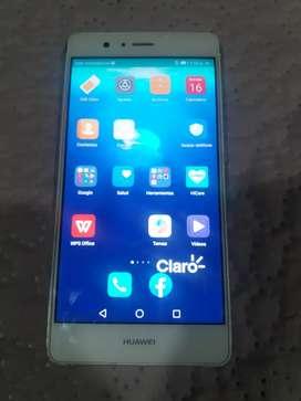 Se vende Celular Huawei P9 lite usado.