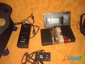 Filmadora Panasonic Afx8 Palm Corder Con Bolso Completa