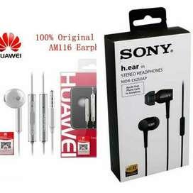 Audífonos Celular NUEVOS ( Sony - Samsung- Huawei - LG)