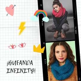 ¡BUFANDA INFINITY!
