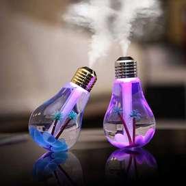 Humidificador Difusor Ambientador Bulb Humidifier Con Luces Led (7 colores) 400ML