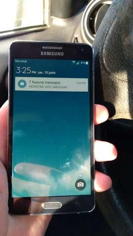 Vendo este Samsung A5 de 16 GB interno y 2 de RAM esta para Movistar  se puede liberar