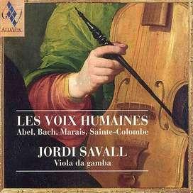 Jordi Savall - LES VOIX HUMAINES.