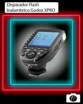 Disparador remoto para flash Godox Xpro