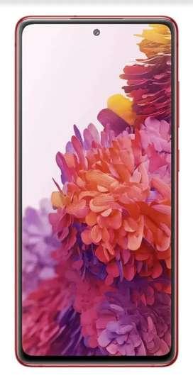 Samsung galaxy s20 FE RED solo vendo en efectivo al contado en pesos