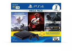 Sony PlayStation 4 Slim 1TB Mega Pack