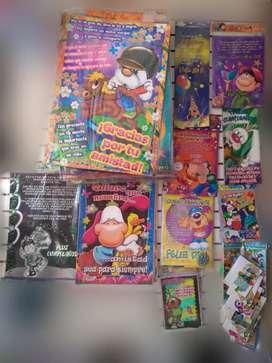 Afiches, tarjetas, lindos motivos y variados