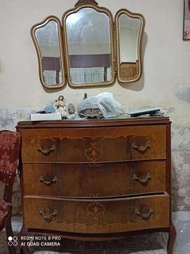 Vendo juego de dormitorio antiguo Luis 15