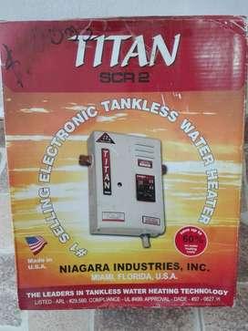 Calentador de Agua de Paso Marca Titan
