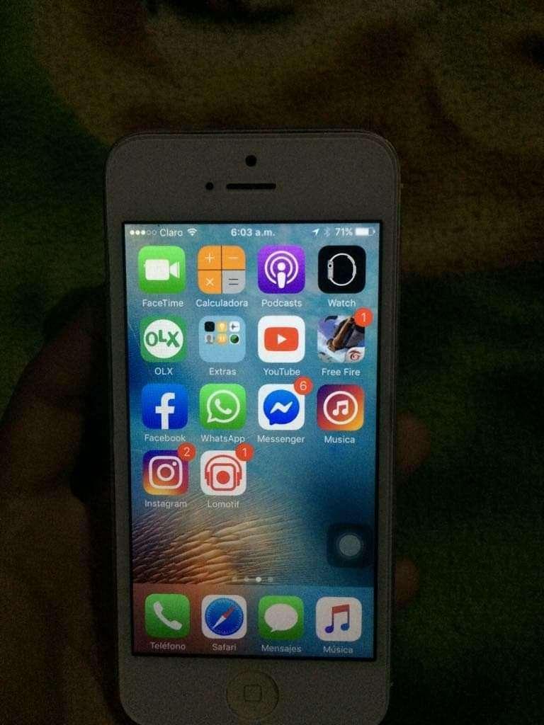 iPhone 5 Normal Estado Fisico 9/10 0